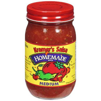 Kramer's Salsa: Homemade Style Medium Salsa, 16 oz