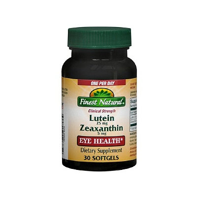 Finest Natural Lutein 25Mg With Zeaxanthin 5Mg