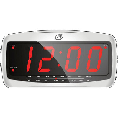 Gpx GPX AM/FM Clock Radio - G.P.X. INC.