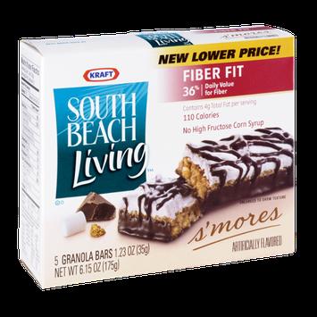 Kraft South Beach Living S'mores Granola Bars