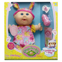Cabbage Patch Kids 12.5 Dress Up and Play Baby Bald, Blue Eyes,