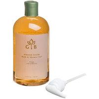 Garden Botanika Bath & Shower Gel, Almond Cream, 16.9-Ounce Bottles