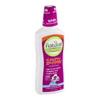 The Natural Dentist Cavity Zapper Fluoride Rinse Berry Blast