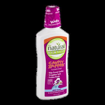 The Natural Dentist Cavity Zapper Fluoride Rinse Berry Blast