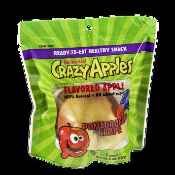 Crazy Apples Pomegranate Grape Flavored Apple