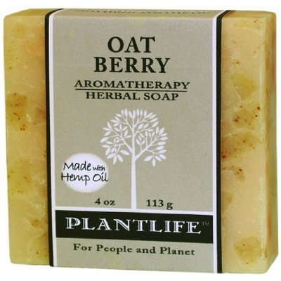 Plantlife Oat Berry 100% Pure & Natural Aromatherapy Herbal Soap - 4oz (113g)
