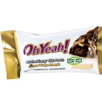 ISS Research - OhYeah High Protein Bar Almond Fudge Brownie - 3 oz.