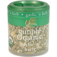 Simply Organic Certified Organic Garlic 'N Herb