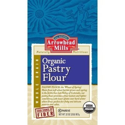 Arrowhead Mills Whole Wheat Pastry Flour 32 OZ (Pack of 24)