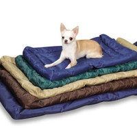Petedge ZA210 48 31 Slumber Pet Water Resistant Bed Xlg Chocolate