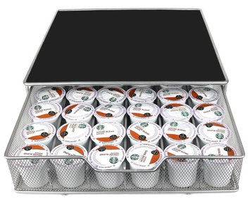 Estilo Coffee Pod Drawer Organizer Holds up to 36 K-cups
