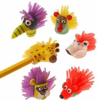 US Toy Company 2152 Wild Animal Pencil Tops