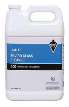 TOUGH GUY 12M187 Glass Cleaner,1 gal, Blue