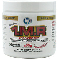 BPI Sports 1 M.R. Ultra-Concentrated Pre-Workout Powder