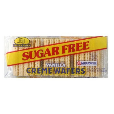 Golden Batch Sugar Free Vanilla Wafers, 5.5-Ounce (Pack of 12)