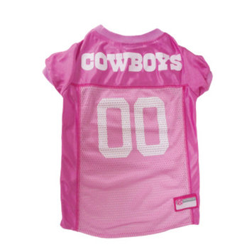 Pets First Dallas Cowboys Pink Jersey