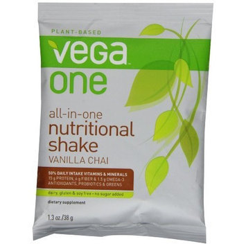 Vega One All-In-One Nutritional Shake, Vanilla Chai, Single Packet