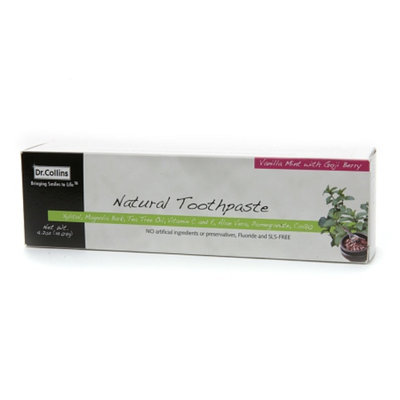 Dr. Collins Natural Toothpaste