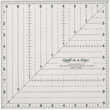 Quilt In A Day Inc. Quilt In A Day Square Up Ruler 9-1/2