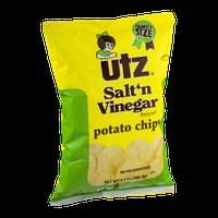Utz Potato Chips Salt 'n Vinegar Flavored Family Size