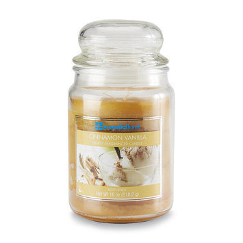 Essential Home 18 Ounce Jar Candle Cinnamon Vanilla - LANGLEY PRODUCTS L.L.C.