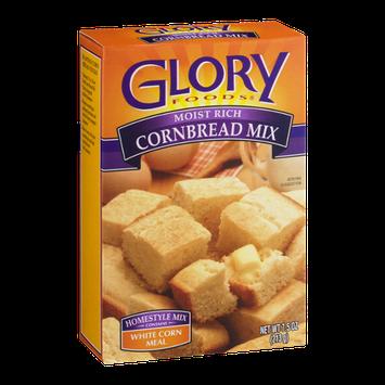 Glory Foods Cornbread Mix White Corn Meal