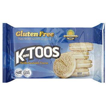 Kinnitoos Vanilla Creme Sandwich Cookies