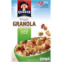 Quaker Life® Apple Cranberry Almond Natural Granola