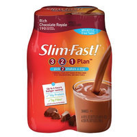 Slim-Fast Shakes 4 Pack Rich Chocolate Royale
