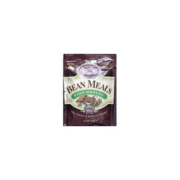 Grandma Maud's Premium Bean Medley Bean Meal 6.2 Oz 12 Packs