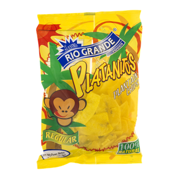 Rio Grande Platanitos Plantain Chips Regular