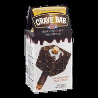 The Crave Bar Ice Cream Pretzel Bar Dark Chocolate Decadence