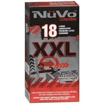 Nuvo Large Lubricated Premium Latex Condoms