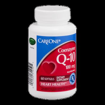 CareOne Q-10 Coenzyme 100mg Softgels