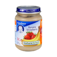 Gerber® Nature Select 3rd Foods Banana Strawberry
