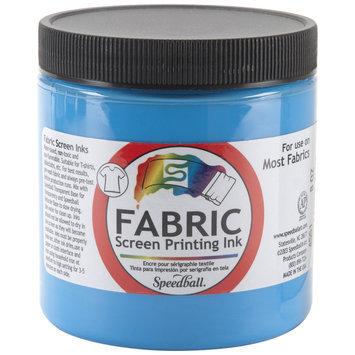Speedball Fabric Screen Printing Ink 8 oz. jar peacock blue