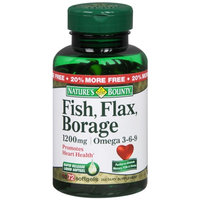 Nature's Bounty Omega 3-6-9 Fish