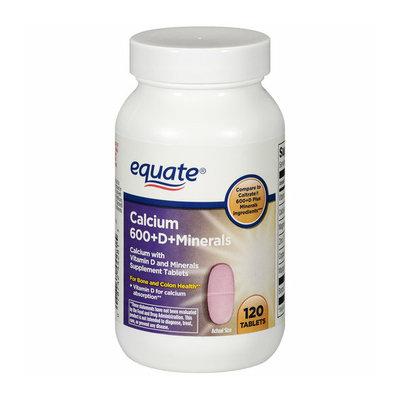 Equate 600+D Calcium Supplement With Vitamin D & Minerals