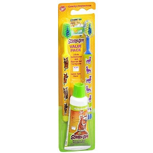 Walgreens Scooby Doo Toothbrush Tooth Paste