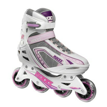 American Athletic Shoe Co Women's Roces Inline Skates - White/ Purple (10)