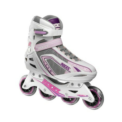 American Athletic Shoe Co Women's Roces Inline Skates - White/ Purple (10)