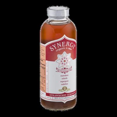 GT's Raw Organic Kombucha Strawberry Serenity