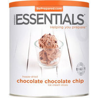 Emergency Essentials Freeze-Dried Chocolate Chocolate Chip Ice Cream Slices, 15 oz