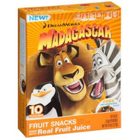 DreamWorks Madagascar Fruit Snacks, 0.8 oz, 10 count