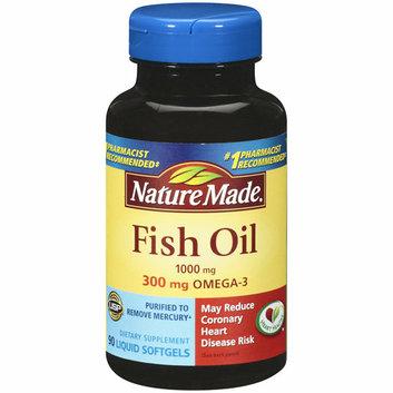 Nature Made Fish Oil Liquid Softgels