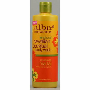 Alba Botanica Hawaiian Cocktail Body Wash Mai Tai