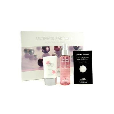 Swissline Ultimate Radiance Set: Elixir 100ml/3.38oz + Pearl Cream 2.5ml/0.05oz + Day Protector 45ml/1.8oz --3pcs