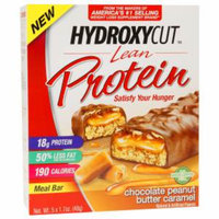 Hydroxycut Lean Protein 18g Meal Bars, Chocolate Peanut Butter Caramel, 5 ea