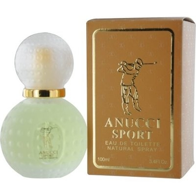 Anucci Sport Eau de Toilette Spray, 3.4 Ounce