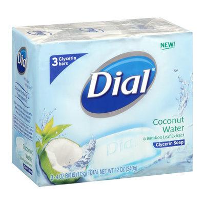 Dial Coconut Water Glycerin Soap